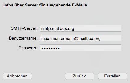 Einrichtung Mit Mailapp Für MacOS X EMail Einrichtung - Minecraft server erstellen fur mac