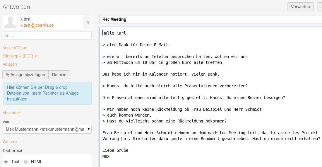 Tipp Richtig Mailen Will Gelernt Sein E Mail Tipps